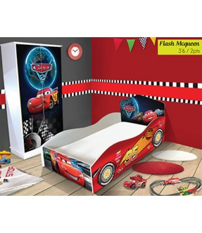 Flash Mcqueen Bedroom Package