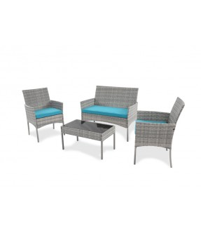 Calvinia Garden Set - Table + 1 Seater + 2 Seater