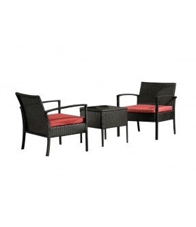 Aurora Garden Set - Table + 2 chairs