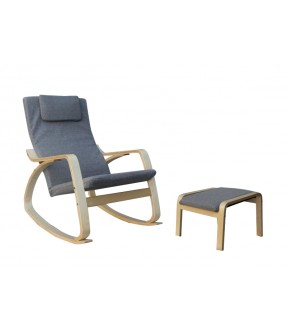 Penford Rocking Chair + 1 Stool