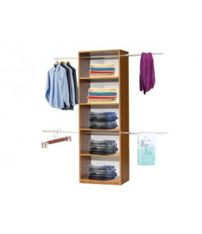 Chippy 6 Shelves with  Double Hangers