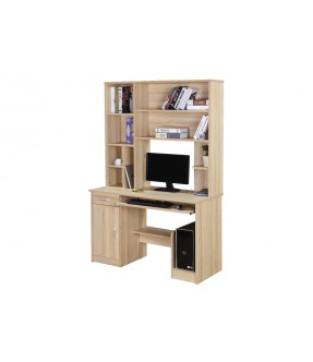 Freedom Office Table With Shelves