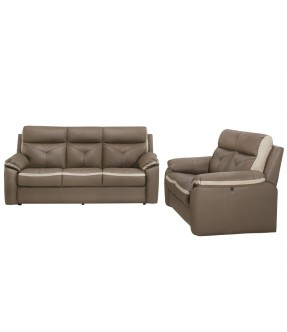 Salvador Sofa Recliner Set