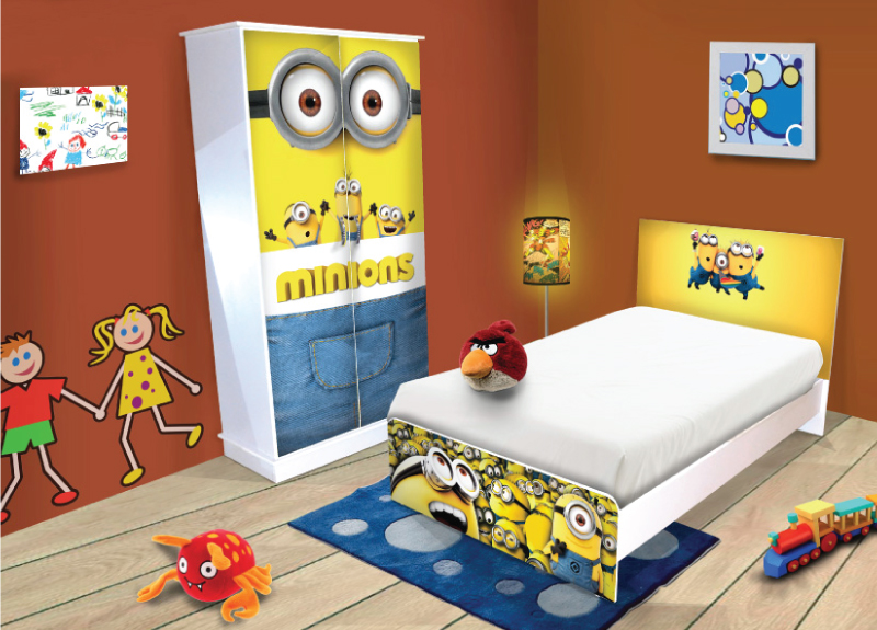 Minions Bedroom Package