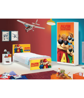 Alvin and the Chipmunks Bedroom Package
