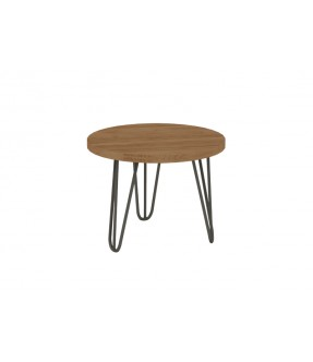 Havana Side Table Iron Round
