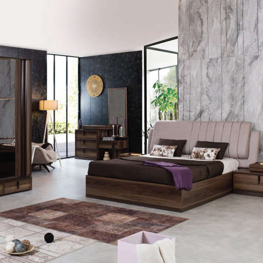 Living Room, Bedroom, Leather